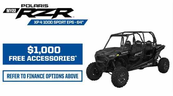 MY22 RZR XP 4 1000 Sport EPS - 64