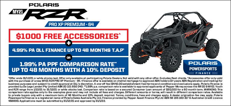 Polaris RZR Pro XP Premium