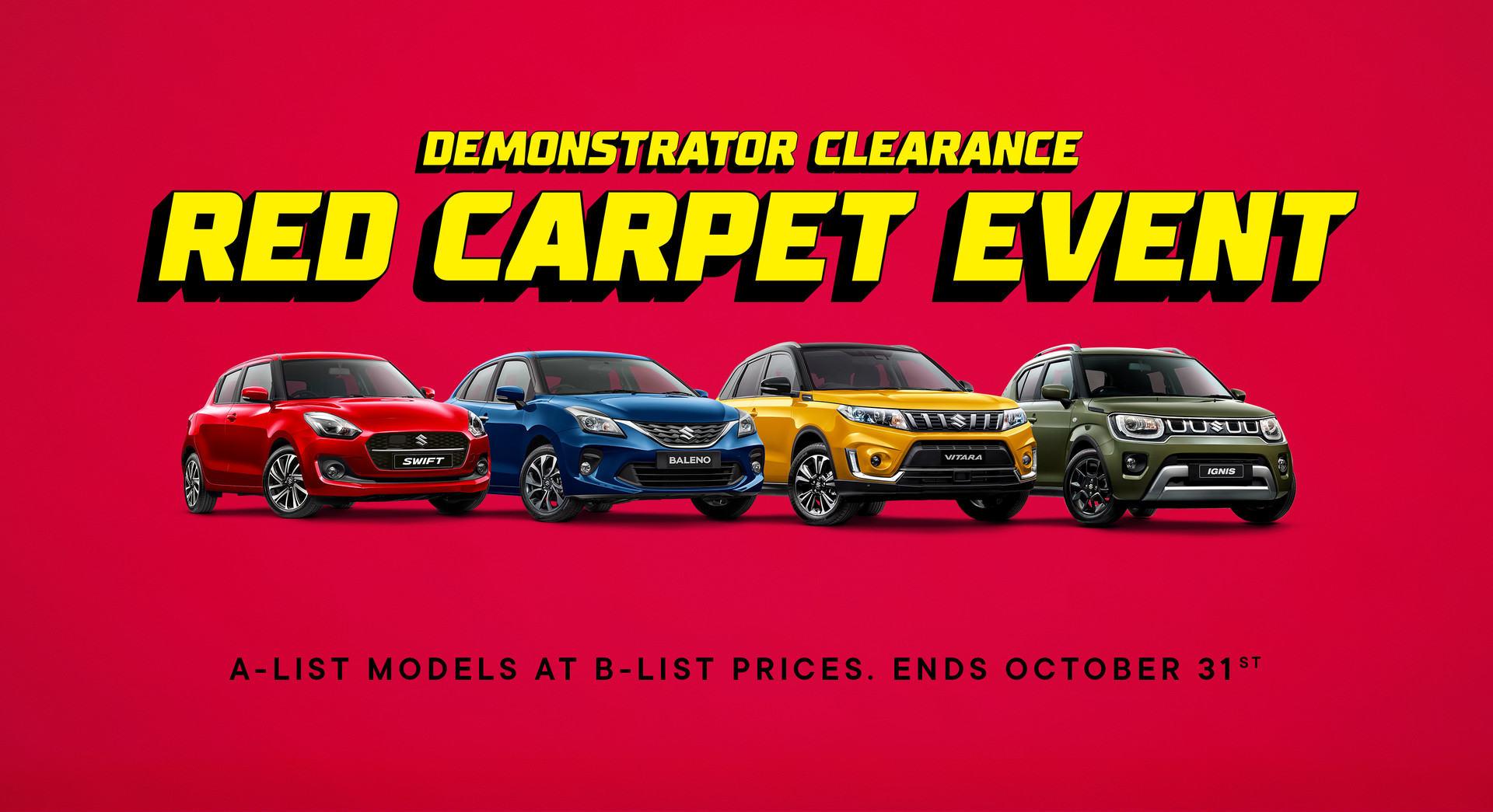 Suzuki Demonstrator Clearance Oct 2021