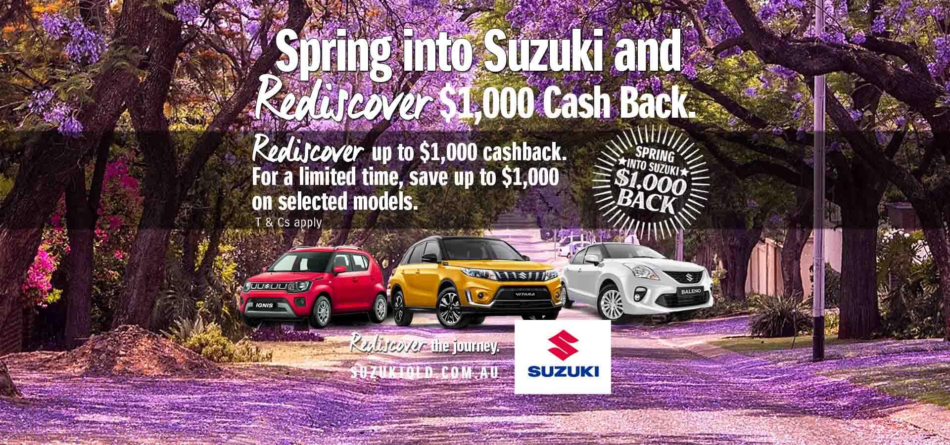 Suzuki QLD - Spring Into Suzuki