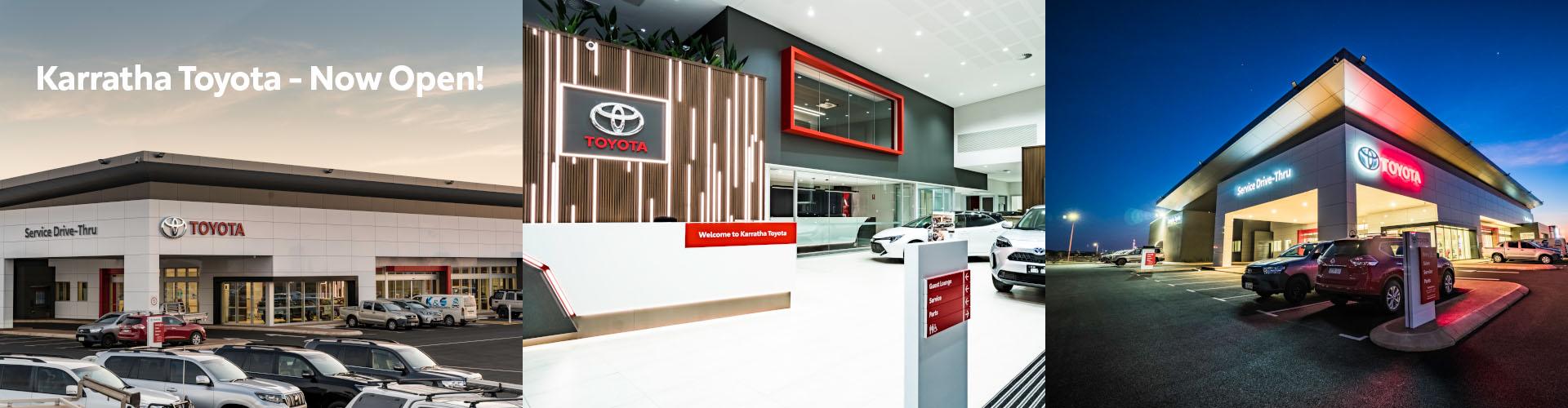 Karratha Toyota - Now Open!
