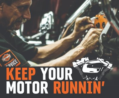 Keep your motor running image