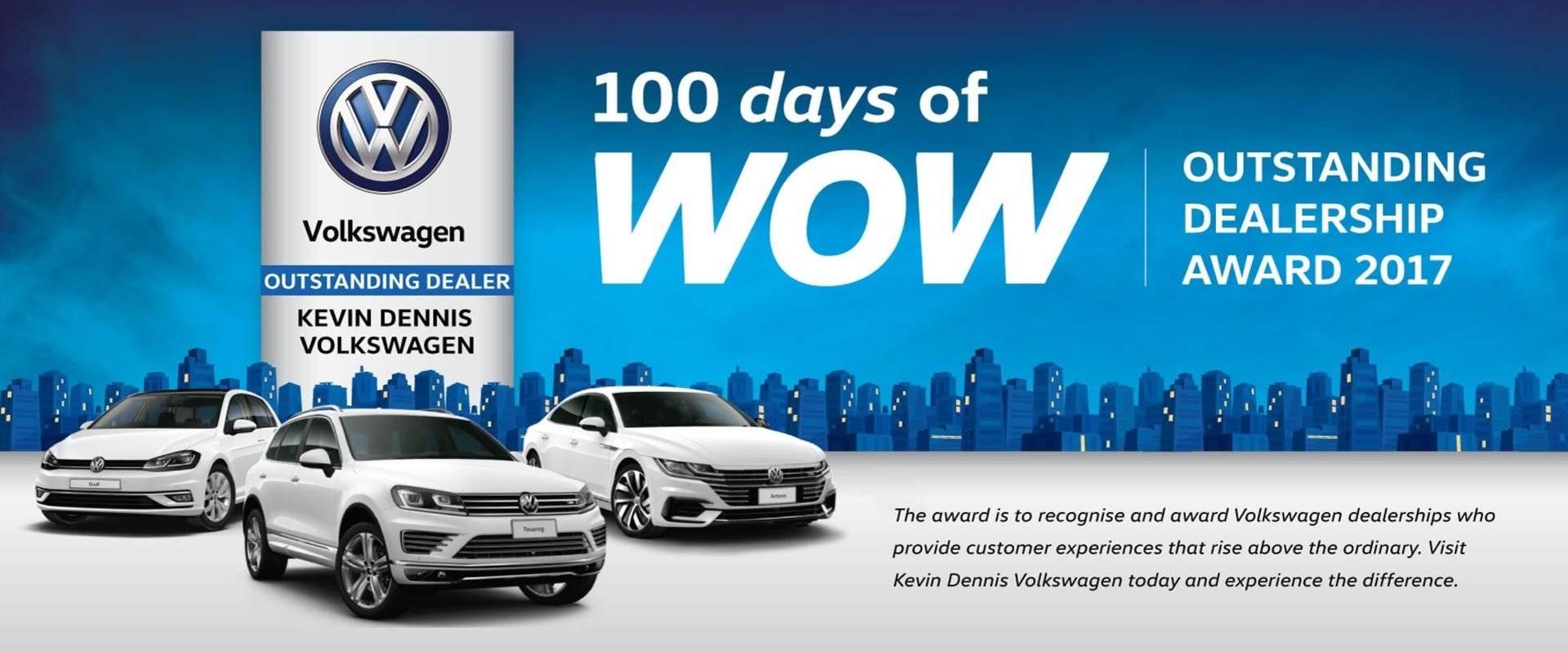 Kevin Dennis Volkswagen 100 days