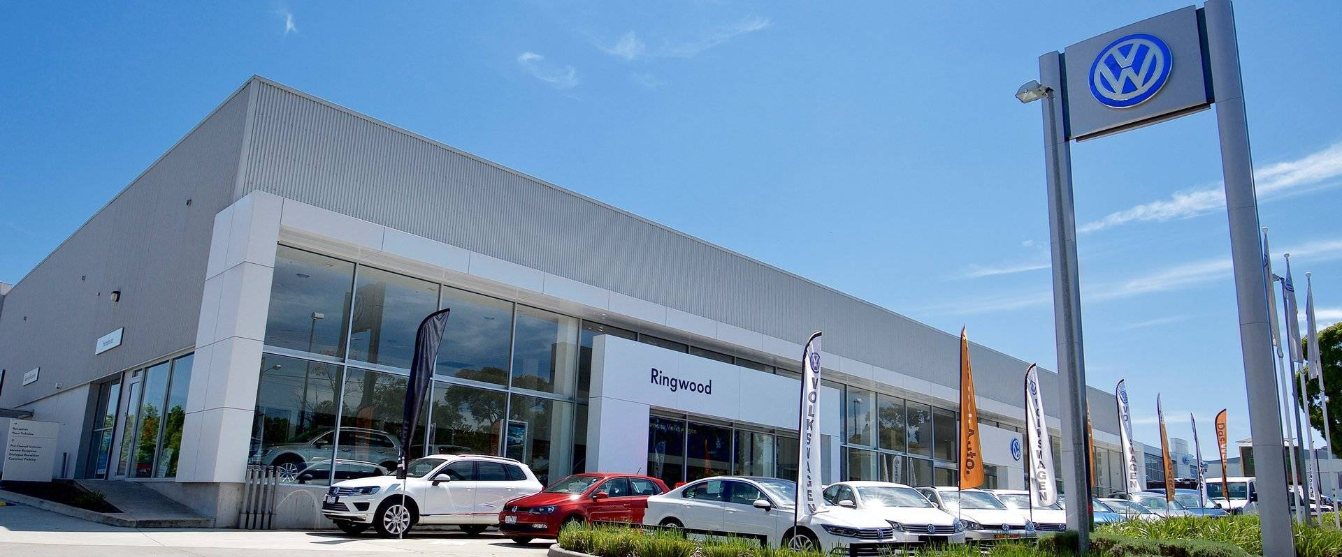 Ringwood Volkswagen Picture of Showroom