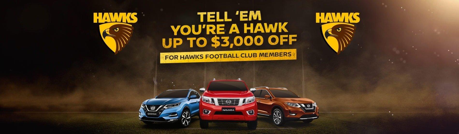 Tell 'em you're a Hawk