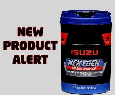Isuzu releases new oil image