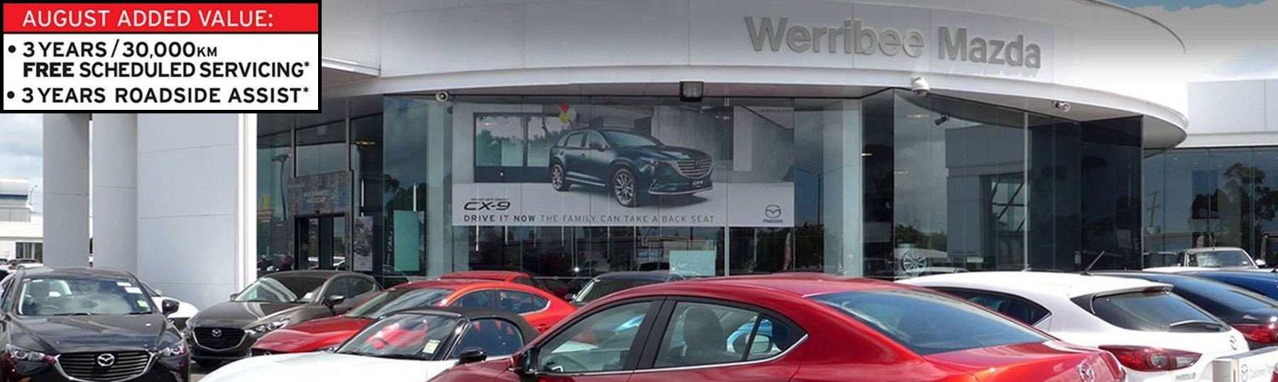 Werribee Mazda August Offers