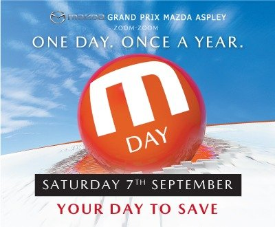 M Day at Grand Prix Mazda Aspley image