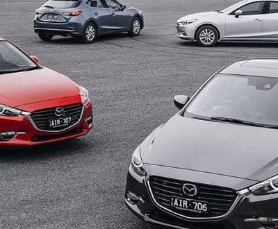 Mazda3 range image