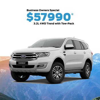 New Everest Trend 4WD 3.2L Diesel Driveaway with Tow Pack - Offer Exclusive to Nova Ford Small Image