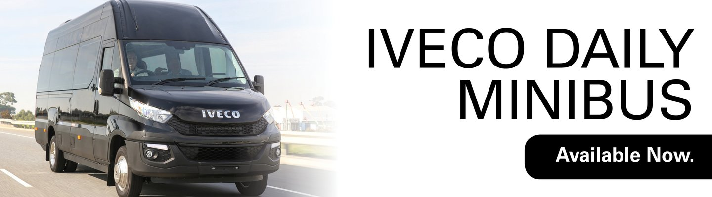 Iveco Daily Minibus - Available Now