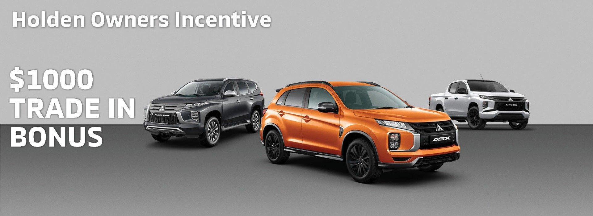 Holden $1000 Bonus incentive