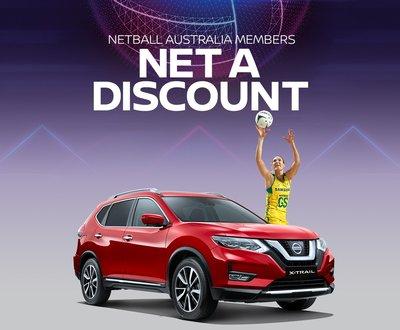 Nissan x Netball Australia image