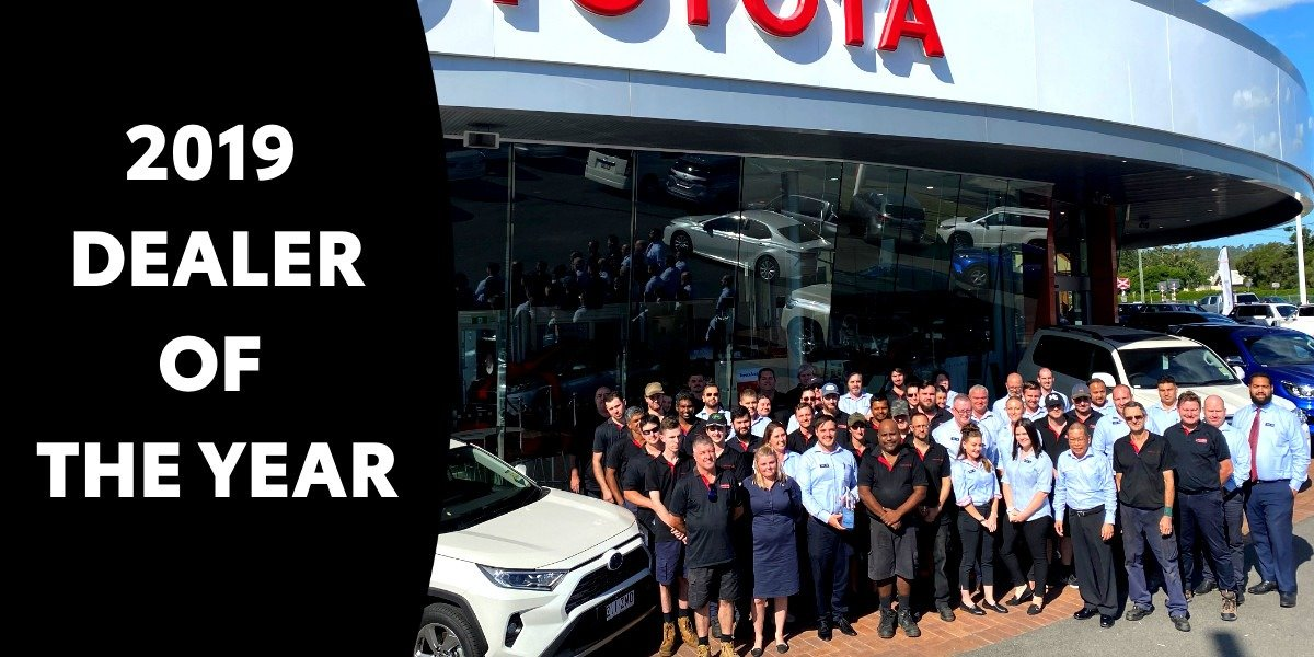 blog large image - Llewellyn Toyota Win's Toyota Dealer of the Year Award for 2019