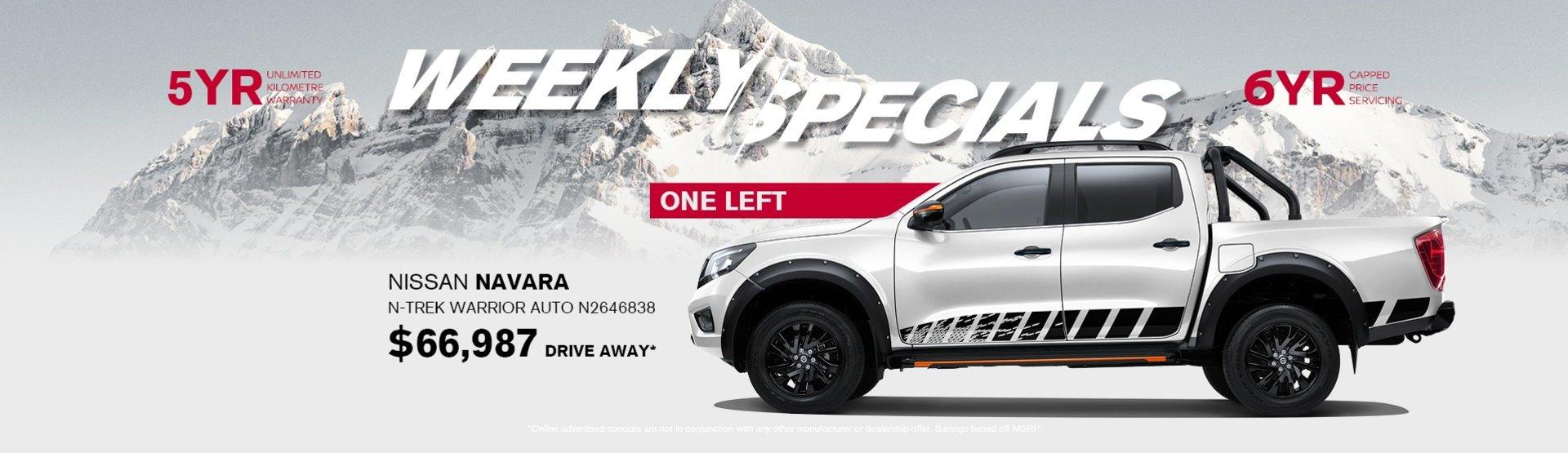 2020 Nissan Navara N-TREK Warrior special