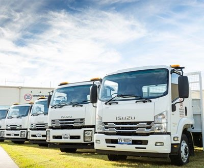 Complete Supply gets the complete package from Isuzu trucks. image