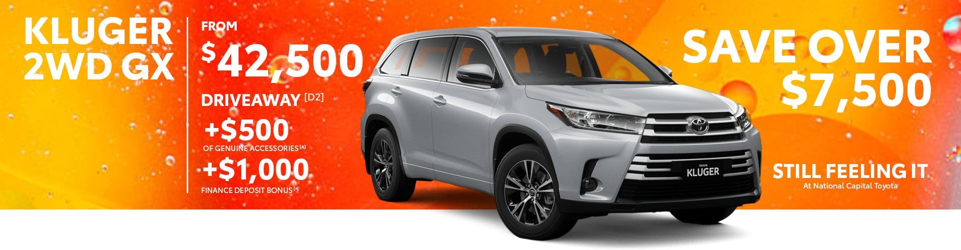 National Capital Toyota Kluger