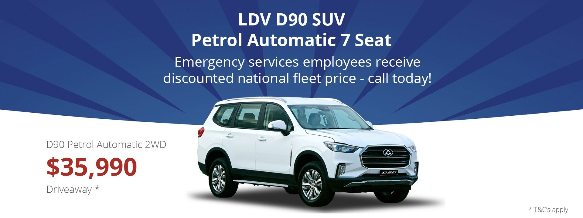 Carwise LDV D90 7 Seat