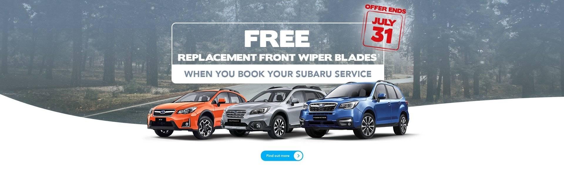 Subaru Melbourne Winter Service Offer