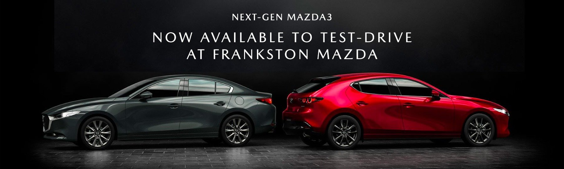 Mazda3 now available for test drives