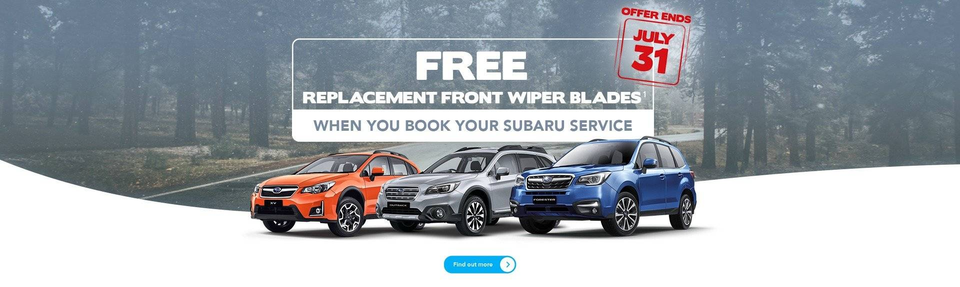 Subaru Melbourne Winter Service Offer