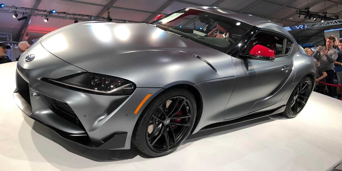 blog large image - First Production 2020 Toyota Supra Sold For $2.1M At Auction