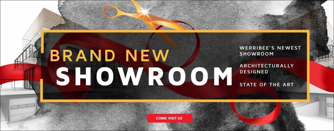 Werribee Mitsubishi Brand New Showroom