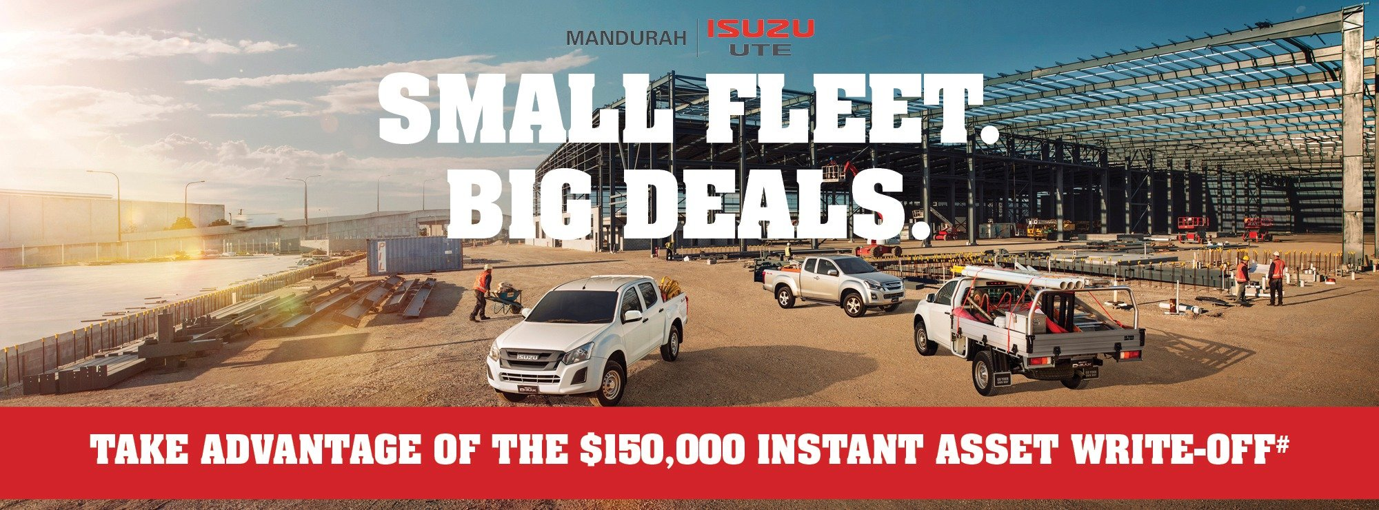 Small fleet big deals