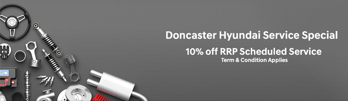 Doncaster Hyundai Service Special Offer Large Image