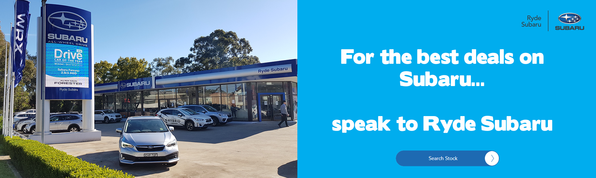 Ryde Subaru customer service leader