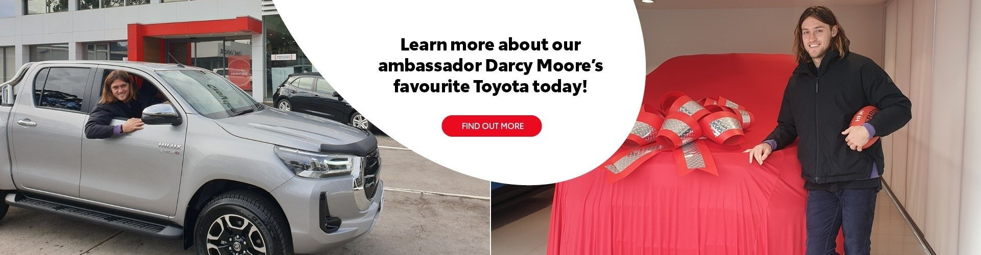 Darcy Moore and Toyota HiLux