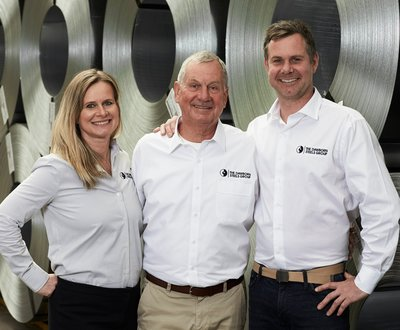 Leigh, Tim and Melanie from Dawborn Steels Group image