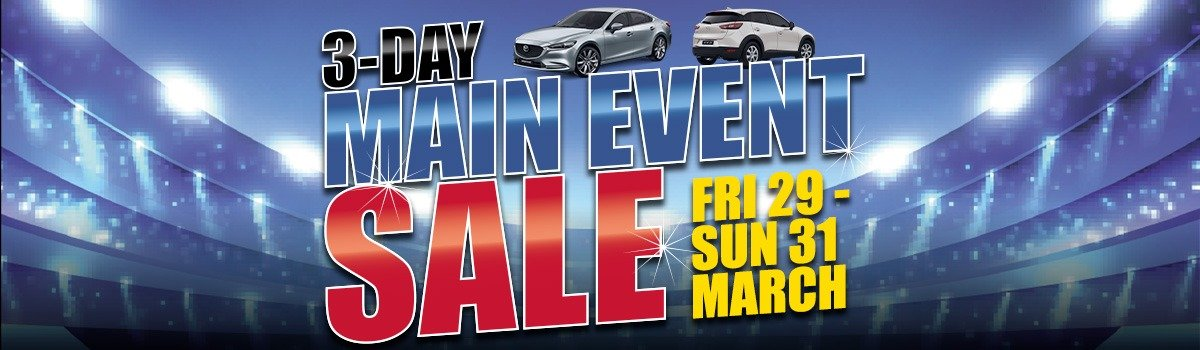 Graeme Powell Frankston Mazda's 3-Day Main Event Sale Friday March 29 - Sunday March 31! Large Image