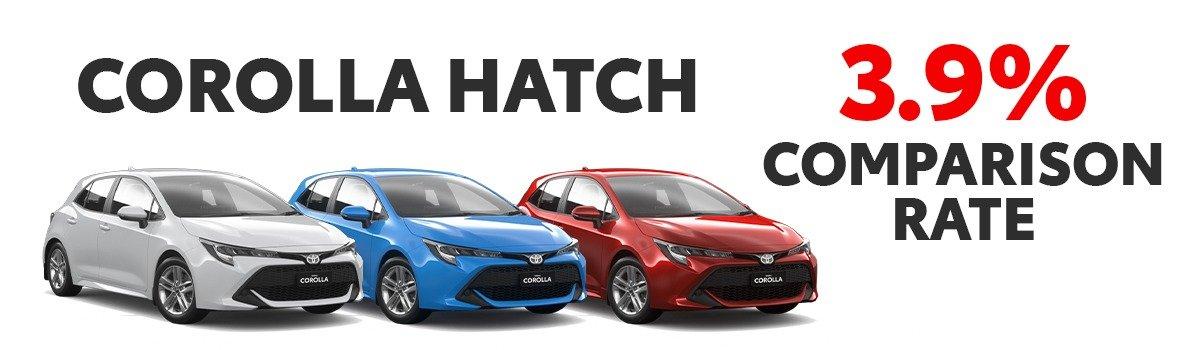 Corolla Hatch Petrol & Hybrid Large Image