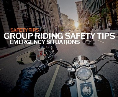 Group Riding Safety Tips - Emergency Situations image