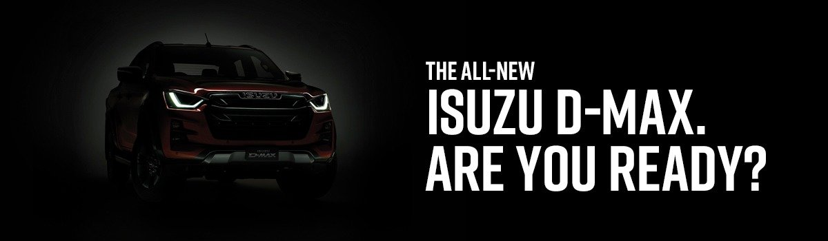 THE ISUZU D-MAX IS COMING. Large Image