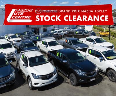Grand Prix Mazda Aspley BT-50 Ute Centre Clearance image