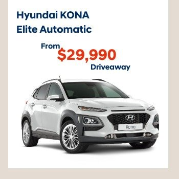 NEW KONA ELITE AUTOMATIC SUV Small Image