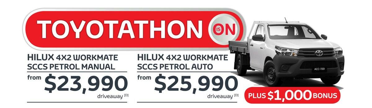 Toyotathon is on now at Waverley Toyota, that means fantastic offers across the HiLux range Large Image