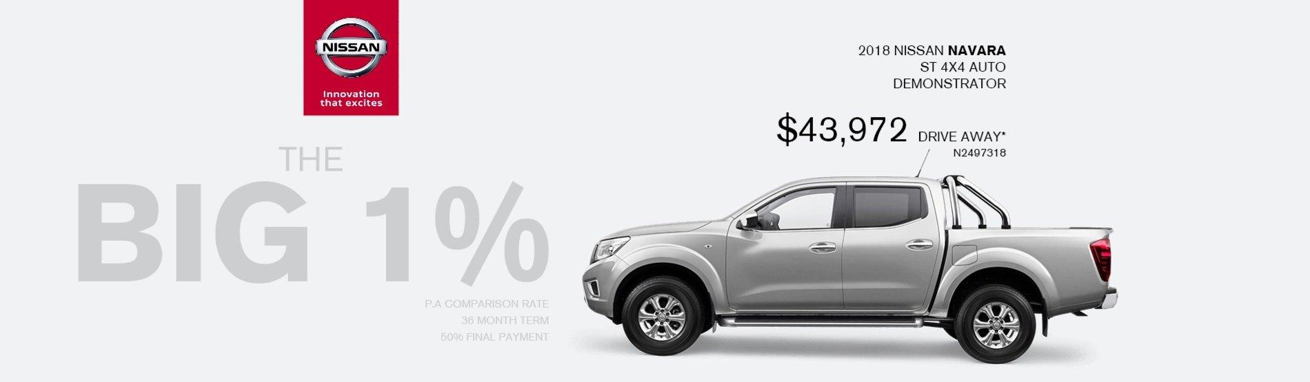 Maitland Nissan BIG 1%
