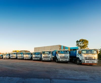 Melway Bin Hire & Demolition's multiple needs solved by Isuzu's extensive range.  image