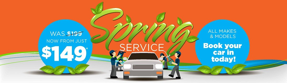 Spring Service Special Large Image