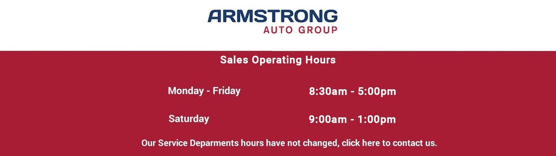 Sales Hours