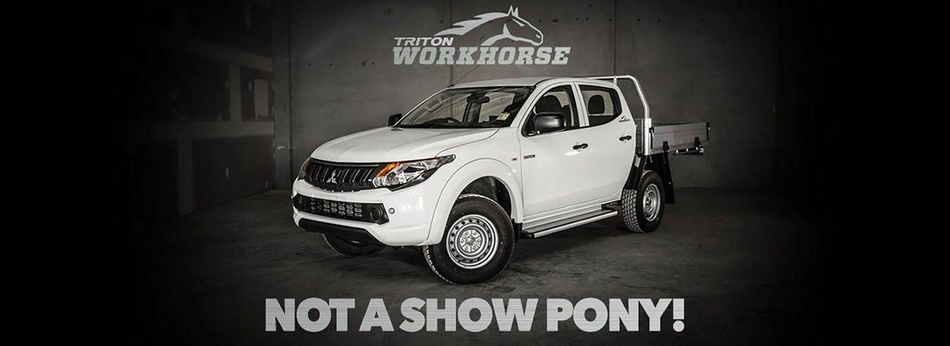 Mitsubishi Triton - Workhorse