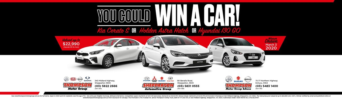 Win A Car! Large Image