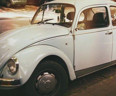 Blue Volkswagen Kafer image