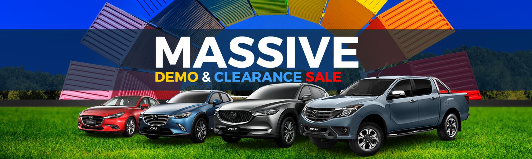 Mazda Clearance Sale