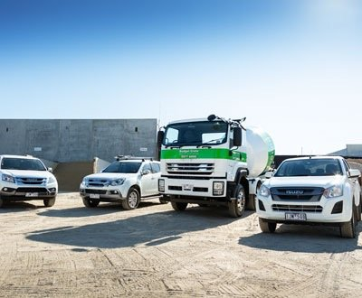 New Isuzu Twin Steer allows Sandbelt to complete larger pours in less time image