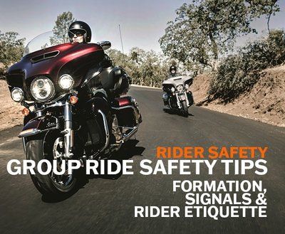 Group Ride Safety Tips Part 2/3 | Formation, Signals and Rider Etiquette image