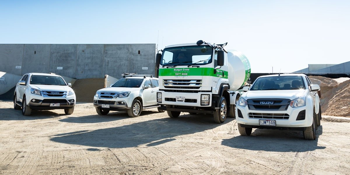 blog large image - New Isuzu Twin Steer allows Sandbelt to complete larger pours in less time